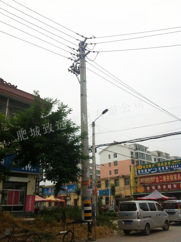 10千伏双回分支杆(Ф400-13米)