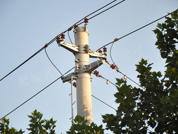 10千伏长平线分支杆(Ф400-13米)