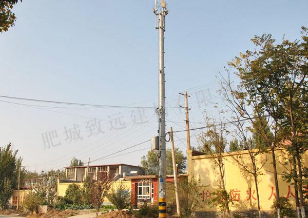 通讯线路、WLAN应用钢筋万博manbetx下载手机客户端电 杆